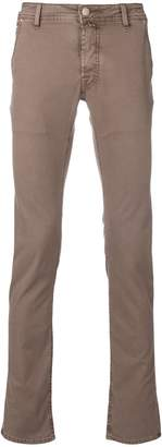 Jacob Cohen denim-style straight leg trousers