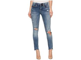 Blank NYC Crop Distress Skinny Classique in Shot Not