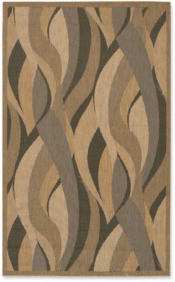 CouristanCouristan® Recife Seagrass Rug in Natural/Black