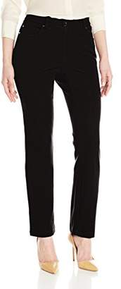 Rafaella Women's Petite Five-Pocket Slim-Leg Pant