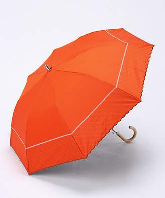 [オンリー エムアイ] 楽折スタイル ドットプリント 雨折り傘(OMI16728000-5)