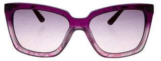 Etro Square Gradient Sunglasses