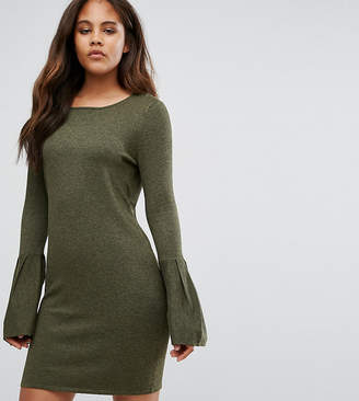 Vero Moda Tall Bell Sleeve Sweater Dress