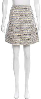 Marc Jacobs Metallic-Accented Tweed Skirt w/ Tags