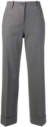 Alberto Biani turn up hem trousers
