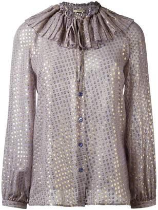 Etro polka dot blouse