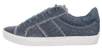 Joie Denim Low-Top Sneakers