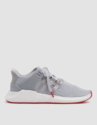 adidas EQT Support 93/17 Sneaker in Matte Silver