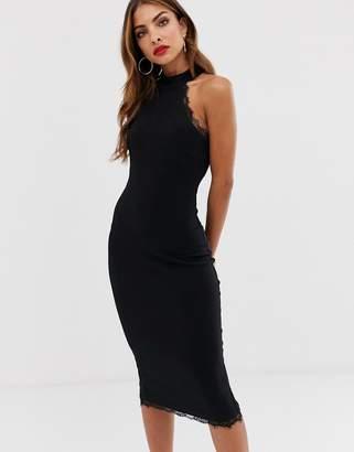AX Paris lace bodycon midi dress