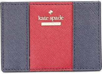 Kate Spade Racing Stripe Card Holder