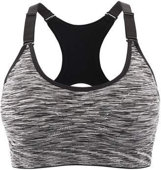 e96be72ecc INIBUD Sports Bras Women s 1 3er Pack Padded Seamless Bras Racerback Yoga  Fitness Running Push