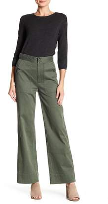 Rebecca Taylor Delphine Crop Stretch Twill Pants