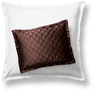 Kumi Kookoon Quilted Boudoir Sham - Chocolate
