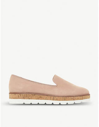 Dune Gasp slipper-cut suede loafers