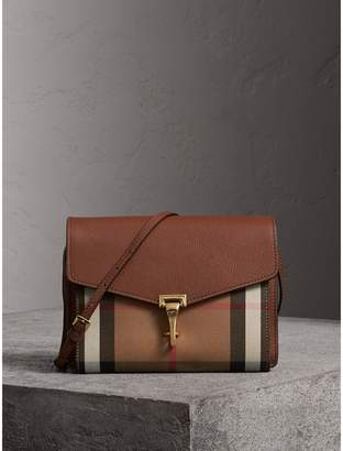 f1837465c9f Burberry Bridle House Check Small Salisbury Tote In Dark Tan Burberry  Bridle House Check Crossbody Bag Reebonz United States ...