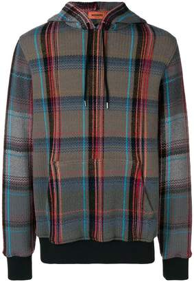 Missoni plaid hoodie