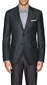 Barneys New York MEN'S TRAVELER WOOL-SILK TWEED SPORTCOAT