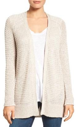 Women's Caslon Textured Cardigan $59 thestylecure.com