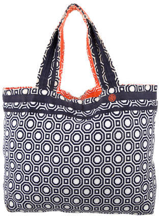 Tory Burch Tory Burch Printed Woven Tote