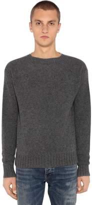 Prada Crewneck Cashmere Knit Sweater