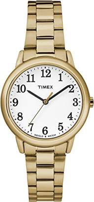 Timex Women's Easy Reader White Dial with a Stainless Steel Bracelet Watch TW2R23800