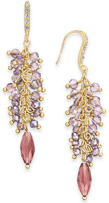 INC International Concepts I.N.C. Gold-Tone Shaky Bead Drop Earrings, Created for Macy's
