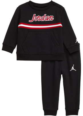 Jordan Tape Fleece Sweatshirt & Sweatpants Set