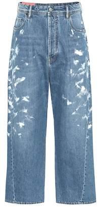 Acne Studios Blå Konst high-rise wide-leg jeans