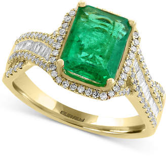 Effy Brasilica Emerald (2-1/5 ct. t.w.) and Diamond (1/2 ct. t.w.) Ring in 14k Gold