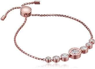 Michael Kors Logo -Tone and Jet Set Crystal Slider Bangle Bracelet