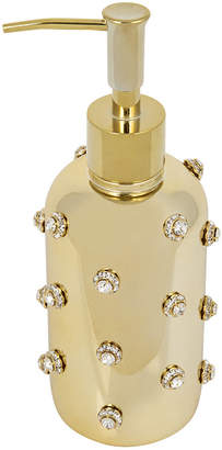 Mike and Ally Mike + Ally - Nova Jewelled Glass Soap Dispenser - Gold