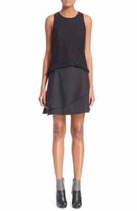 Derek Lam 10 Crosby Empire Flounce Dress
