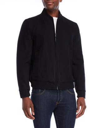 Andrew Marc Barlow Wool-Blend Bomber Jacket