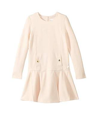 Chloé Kids Milano Dress w/ Wide Pleats (Little Kids/Big Kids)