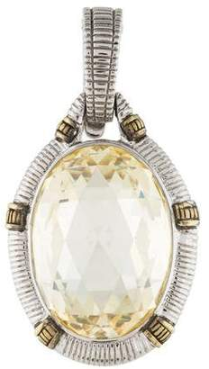 Judith Ripka Crystal Pendant
