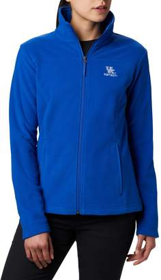 NCAA Women's Kentucky Wildcats Collegiate Give and Go II Full Zip Fleece Jacket