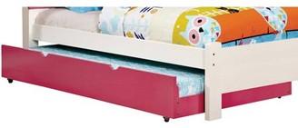 Venetian Worldwide Kimmel Twin Trundle Bed, Pink