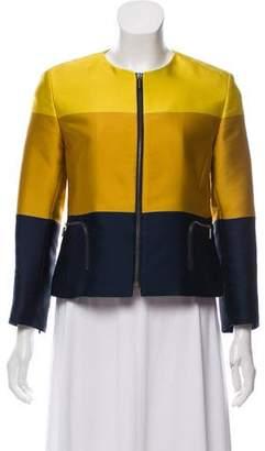 Akris Punto LIghtweight Zip-Accented Jacket