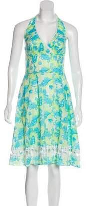 Lilly Pulitzer Printed Halter Dress