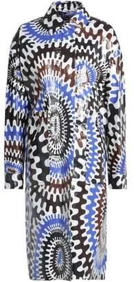 Emilio Pucci Printed Coated-Effect Coat