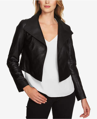 1.state Cropped Faux-Leather Jacket $139 thestylecure.com