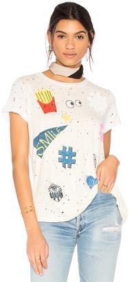 Lauren Moshi Bess Love & Smile Tee $96 thestylecure.com