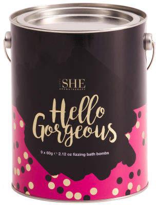 Australian Designed Hello Gorgeous Bath Bomb Set