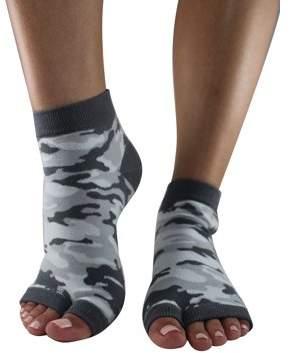 Toezies Urban Camo Tabi Toe-less Grip Socks (S/M)