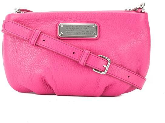 Marc By Marc Jacobs Marc Jacobs Bright Rosa Leather 'New Q Percy' Crossbody Bag (New with Tags)