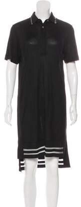 Public School Asymmetrical Collared Dress