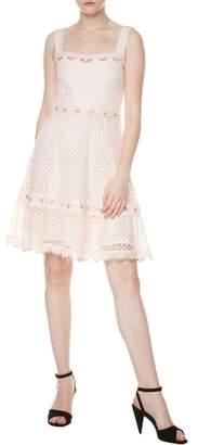 Maje Rosalina A-Line Lace Dress