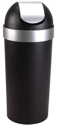 Umbra Venti Swing Top Kitchen Trash Can for Indoor, Outdoor or Commercial Use, 16.5-Gallon Capacity