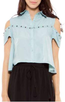 Cecico Aqua Crop Top