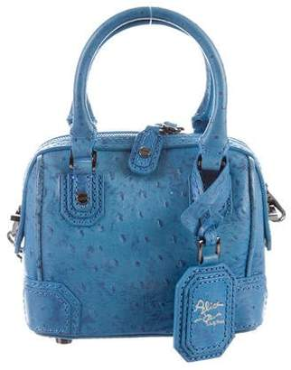 Alice + Olivia Embossed Leather Satchel